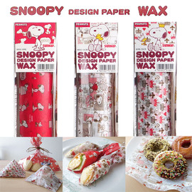 サンナップ - SNOOPY DESIGN PAPER WAX