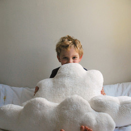 babycricket - White Fluffy Cloud Pillows