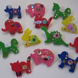 LAMEDALICO - animal brooches