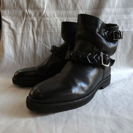 "DISCOVERED - Custum Engineer Boots ""Black"""
