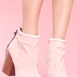 Jeffrey Campbell - Rumble Boot - Blush Suede
