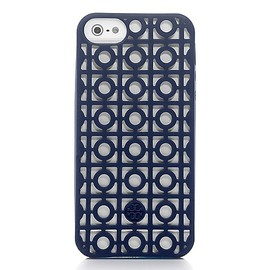 TORY BURCH - Kelsey Perforated Phone Case For iPhone 5