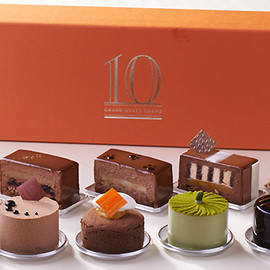 Fiorentina Pastry Boutique / Grand Hyatt Tokyo - Tenth Anniversary Chef's Timeline