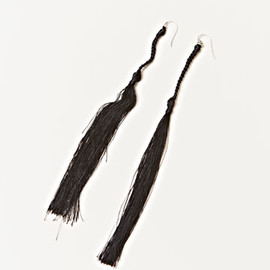 ANN DEMEULEMEESTER - Silk Tassel Earrings