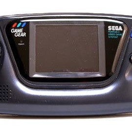 Sega - GAME GEAR Hand Held Color Game System