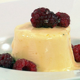 Australian - Lemon semifreddo with vodka syrup