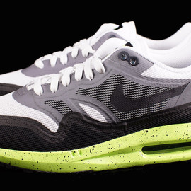 Nike - Air Max 1 Lunar - White/Volt-Grey-Black