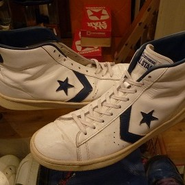 "converse - 「<used>70-80's converse ALLSTAR BASKETBALL MEN'S PRO HI white/navy""made in USA"" size:US10/h 22800yen」販売中"
