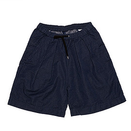 TEATORA - Wallet Shorts Wide CG-Navy