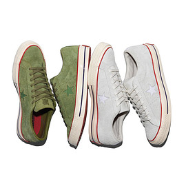 UNDEFEATED CONVERSE - one star