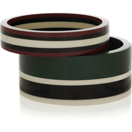 MARNI - Set of two resin bracelets
