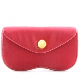 Miu Miu - VELVET CLUTCH red