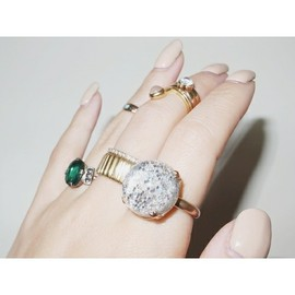 mother - SNOW DOME RING