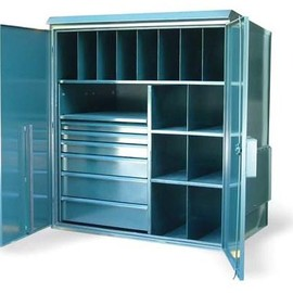 Strong Hold - Multi-Compartment Outdoor Cabinet