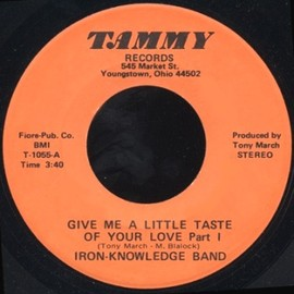 Iron knowledge Band - Give Me A Little Taste Of Your Love