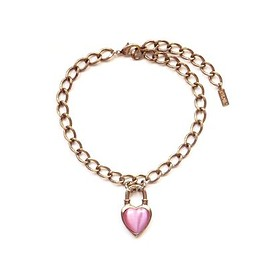LANIE - Never End Chain Choker/Necklace Pink