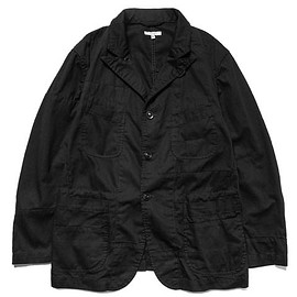 Engineered Garments - 6.5oz Flat Twill Bedford Jacket Black, Jackets