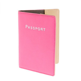 J.CREW - Leather colorblock passport case