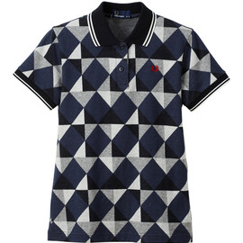 Fred Perry - Modern Argyle Jaquard Polo Shirt