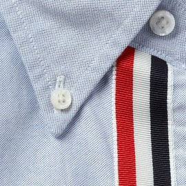 THOM BROWNE - Grosgrain Placket Sport Shirt by Thom Browne