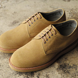 nonnative - postman shoes cow suede with gore-tex