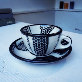 Roy Lichtenstein - Cup and saucer by Jackson china