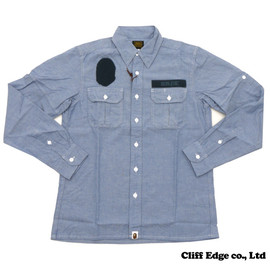 A BATHING APE - CHAMBRAY TACTICAL