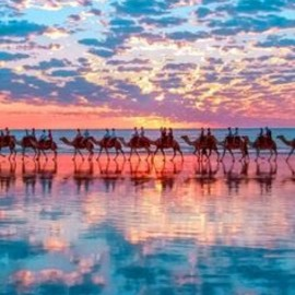 Western Australia - Sunset in Cable Beach