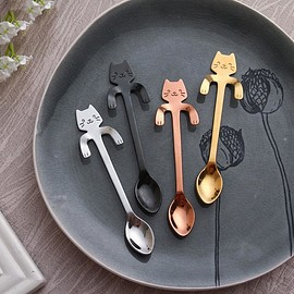 Cute Cat Spoons Set