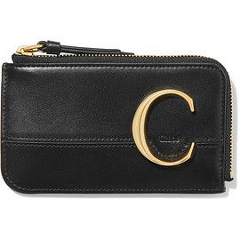 Chloé - Chloé C leather cardholder