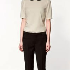 ZARA - peter pan collar top