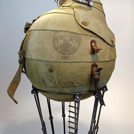 Greg Brotherton - Reclaimed recycled reworked sculptural works