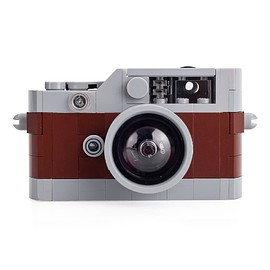Leica - Toy Rangefinder Model Camera - Brown/Gray - Leica Store Miami