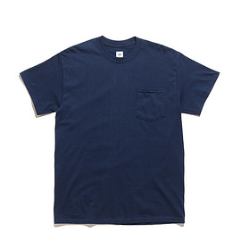RANDT - Back Logo SS T Shirt-Rough And Tumble-Navy