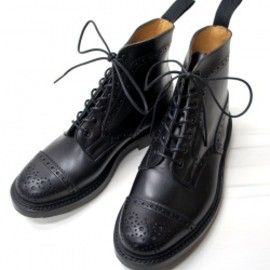 Tricker's - Eaton/Black Calf