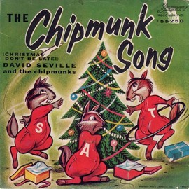 "The Chipmunks - ""The Chipmunk Song"", 1958"