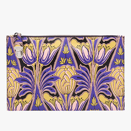 PRADA - Print Saffiano leather clutch
