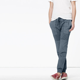 James Perse - KNIT TWILL SURPLUS PANT