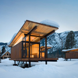 Methow Valley, Washington - 'Rolling Huts'