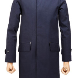 Mackintosh - Watten Model, Navy Blue