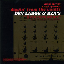 """Various Artists - FRONT presents diggin' from the vaults """"Reincarnation"""" DEV LARGE & KZA'S (VICTOR EDITION)"""