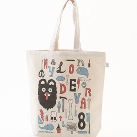 【NLT BY NYLON JAPAN】SHINPEI ONISHI ECO BAG - 【NLT BY NYLON JAPAN】SHINPEI ONISHI ECO BAG