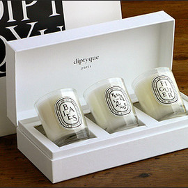 diptyque - Mini candle set