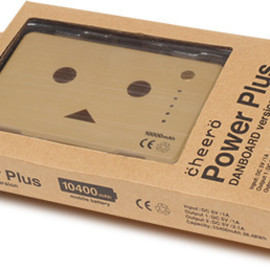 cheero - cheero Power Plus DANBOARD version パッケージ写真