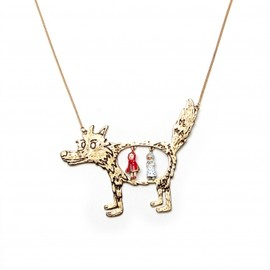 Les Nereides - BIG BAD WOLF LONG NECKLACE