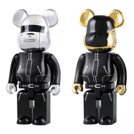 MEDICOM TOY -  bearbrick 400% daft punk 2pack