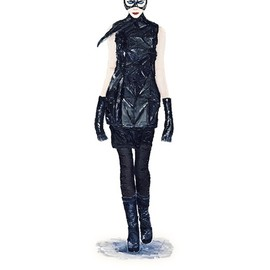 John Woo - He Wears It 014 - Catwoman wears Rick Owens   (limited edition)