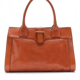 Chloe - Chloé - OVERSIZED ZIPPER DETAILED GLOSSY LEATHER TOTE