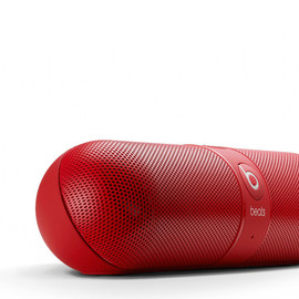 Beats by Dre - red bluetooth speakers