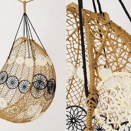 Anthropologie Melati Hanging Chair, Gardenista
